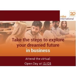 Virtual Open Day για το μεταπτυχιακό πρόγραμμα MBA International