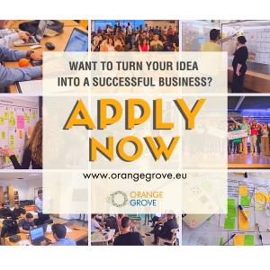 Ξεκίνησαν οι αιτήσεις για συμμετοχή startups από όλη την Ελλάδα στο online Incubation πρόγραμμα του Orange Grove